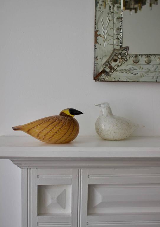 Art Glass Hakki Glass Bird by Oiva Toikka, 1996