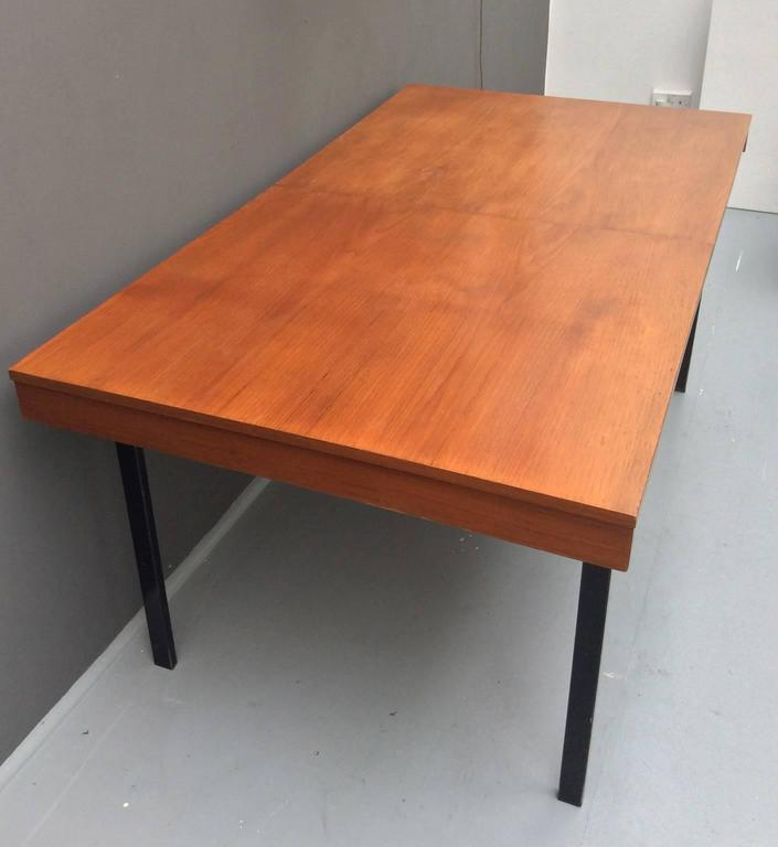 Extending Dining Table By Pierre Guariche For Meurop 1950s For Sale At 1stdibs