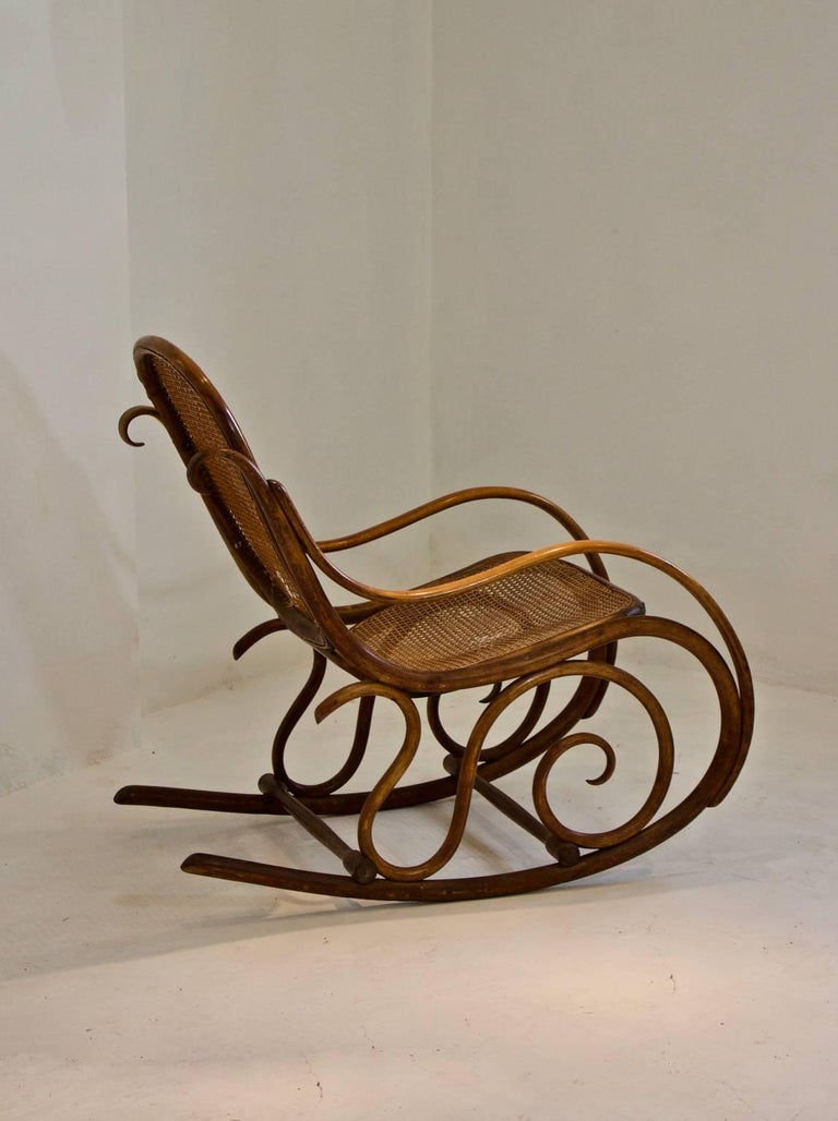 Thonet Bentwood Rocking Chair For 3