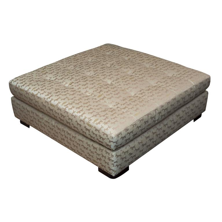 Magnificent Donghia Housepets Ottoman Square At 1Stdibs Cjindustries Chair Design For Home Cjindustriesco