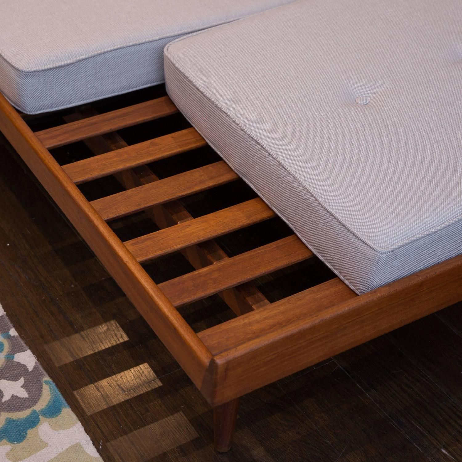 Danish modern daybed bench by hans olsen at 1stdibs Daybed bench