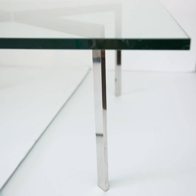 Mies van der rohe for knoll barcelona table base for sale at 1stdibs - Barcelona table knoll ...