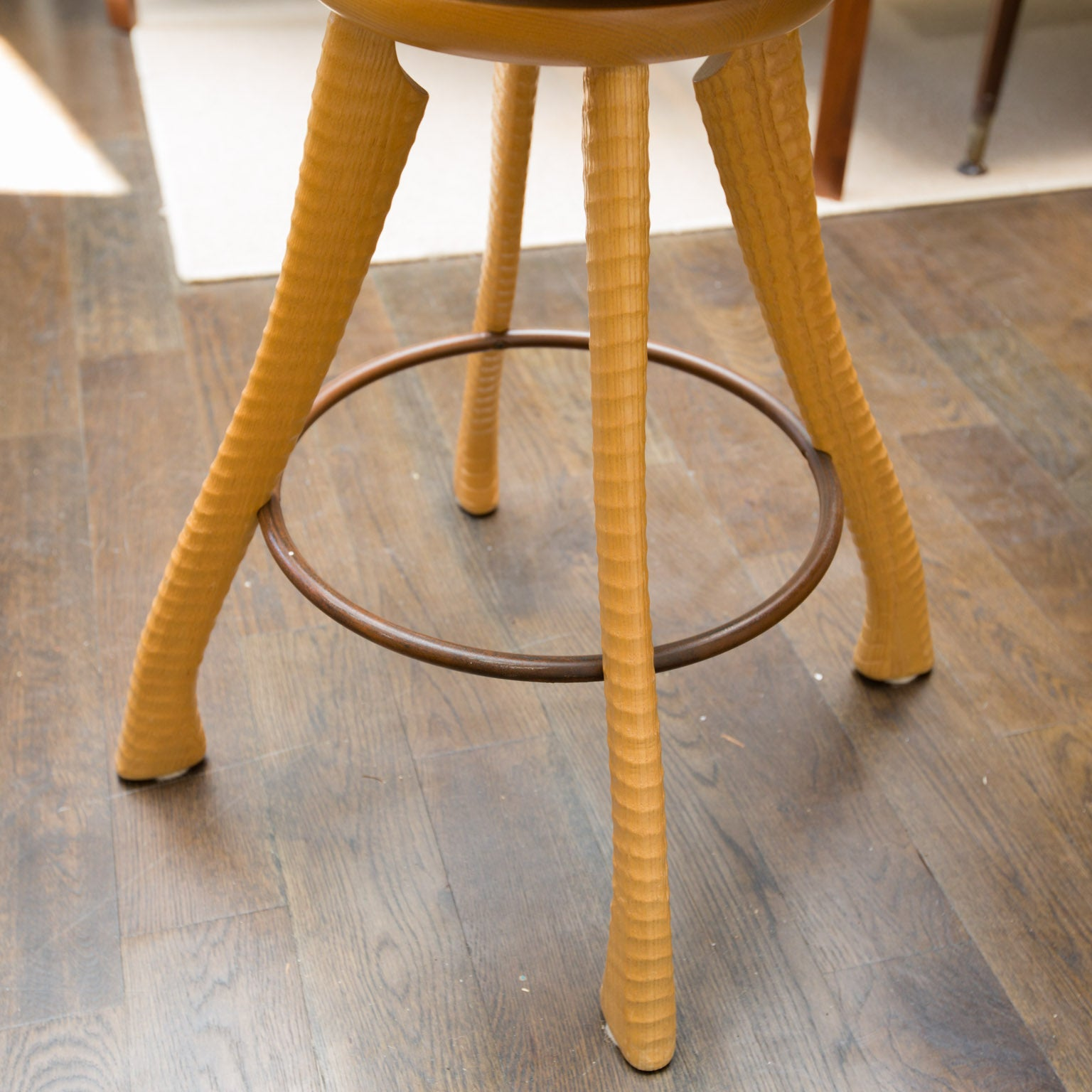 Brad Smith Ax and Pitchfork Counter Chairs For Sale at 1stdibs