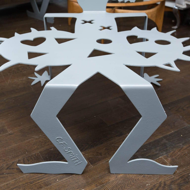 Steel Sculpture Benches by Cheryl Farber Smith 2