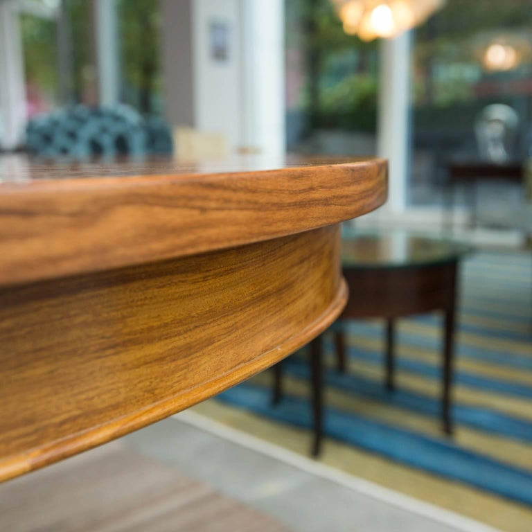 American Bolivian Rosewood Dining Table by Gregory Clark For Sale