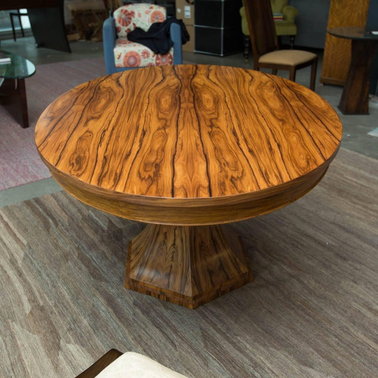 Contemporary Bolivian Rosewood Dining Table by Gregory Clark For Sale