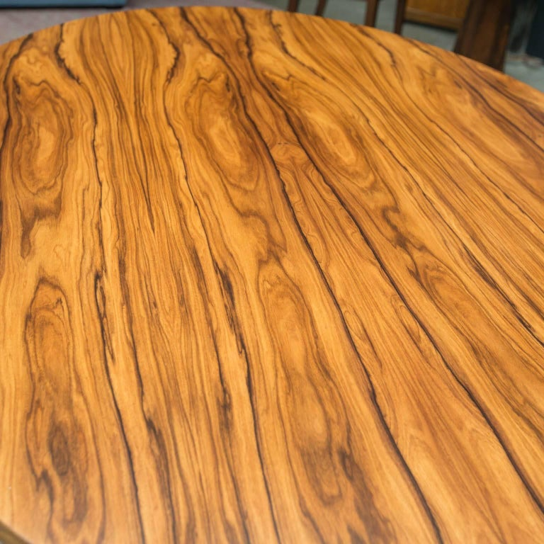 Bolivian Rosewood Dining Table by Gregory Clark In New Condition For Sale In Darien, CT