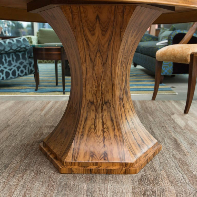 Bolivian Rosewood Dining Table by Gregory Clark For Sale 1