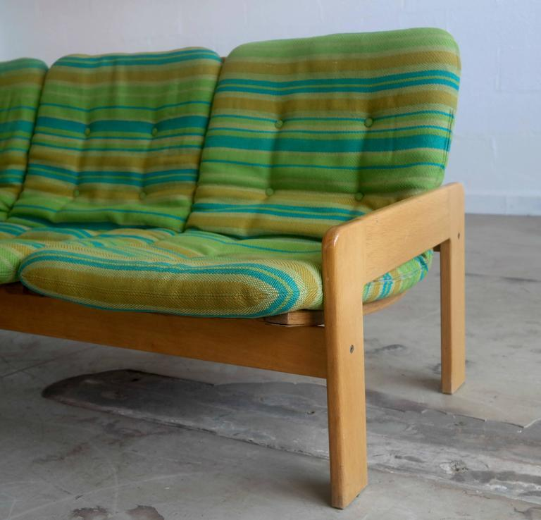 Sofa in Beechwood By Yngve Ekstrom for Swedese 1970 at 1st