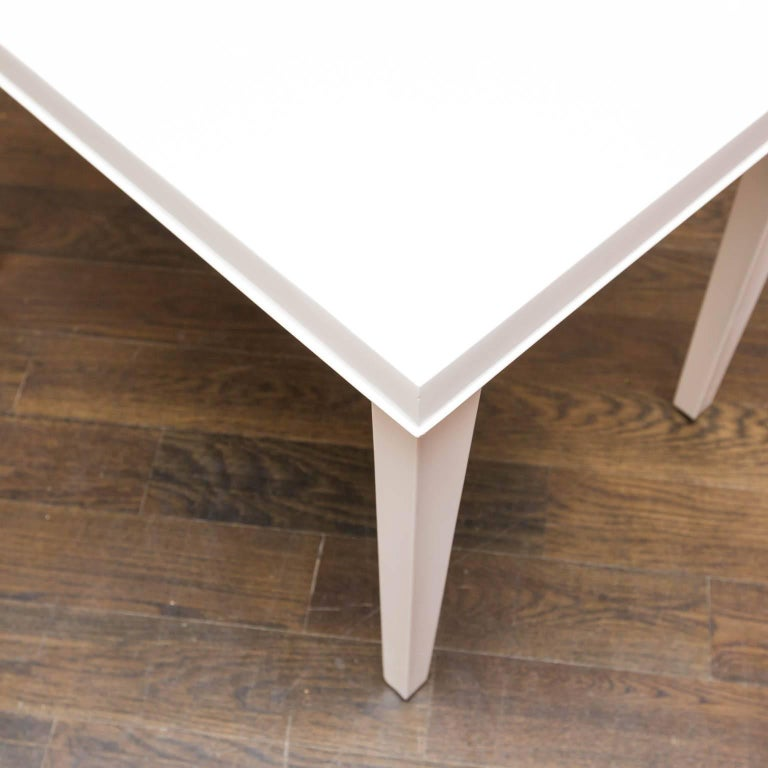 Mid-Century Modern Midcentury Lacquered Side Table For Sale