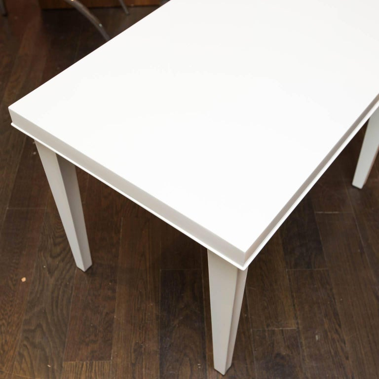 20th Century Midcentury Lacquered Side Table For Sale