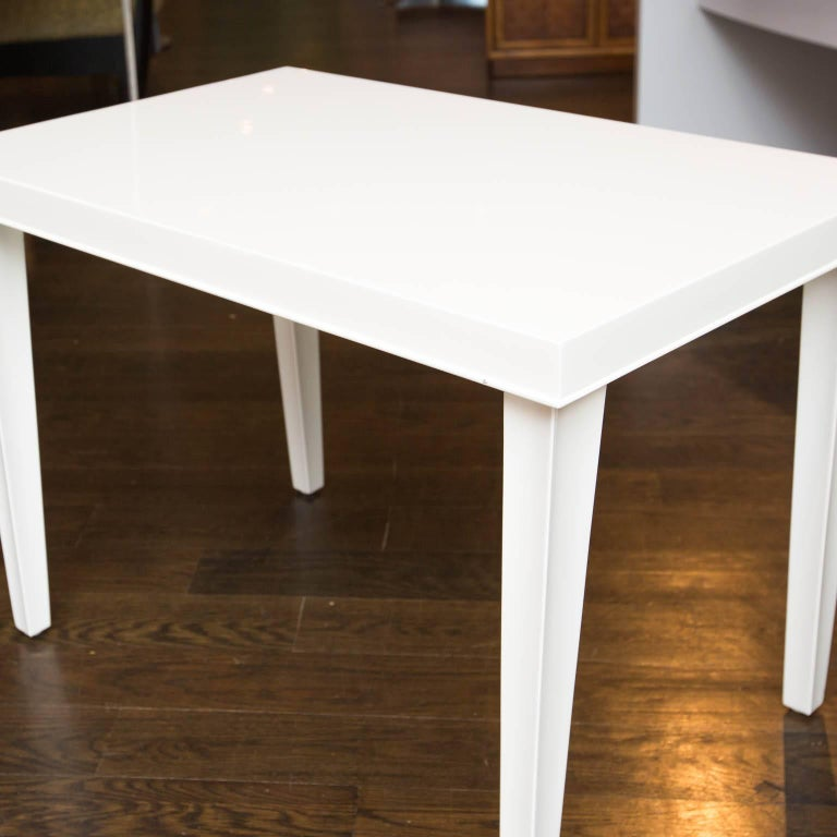 Midcentury Lacquered Side Table For Sale 2