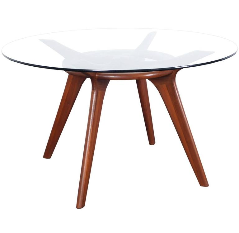 Mid-Century Walnut Dining Table by Adrian Pearsall