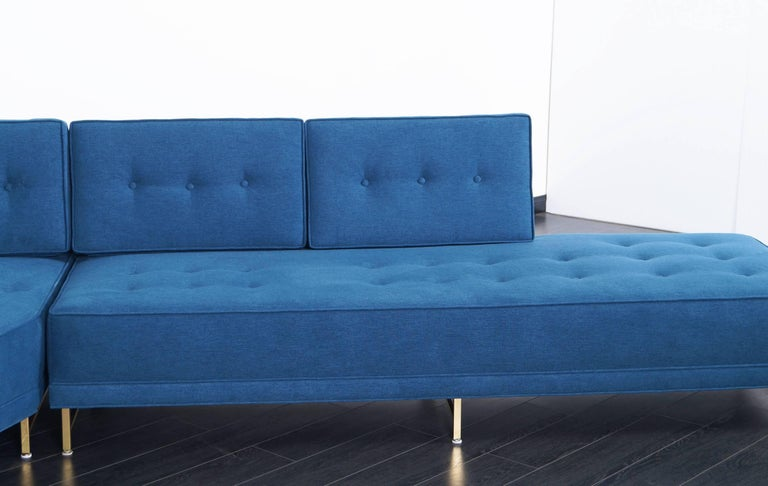 Mid-Century Modern Vintage Sectional Sofa by Paul McCobb for Directional For Sale