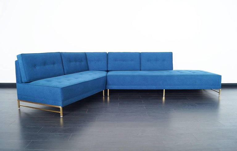 Vintage Sectional Sofa by Paul McCobb for Directional In Excellent Condition For Sale In Burbank, CA