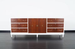 Vintage Two-Tone Credenza by American of Martinsville