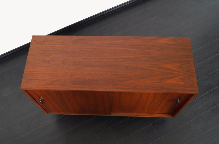 Vintage Walnut Sideboard by Stanley Young For Sale 1