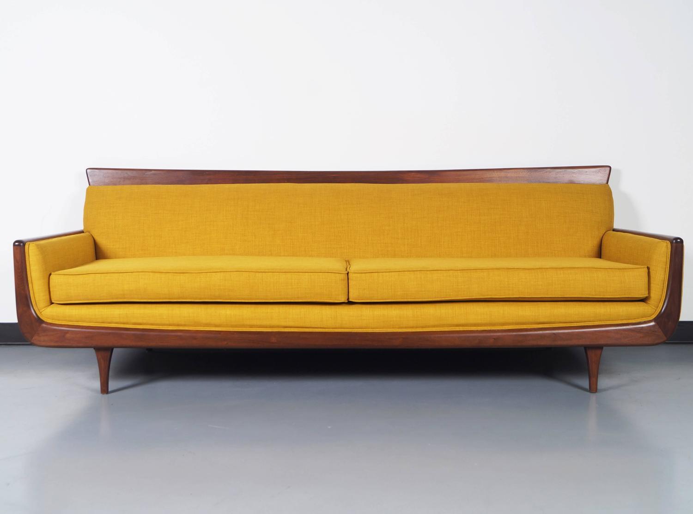mid century modern walnut sofa at 1stdibs adrian pearsall sofa ebay adrian pearsall sofa craigslist