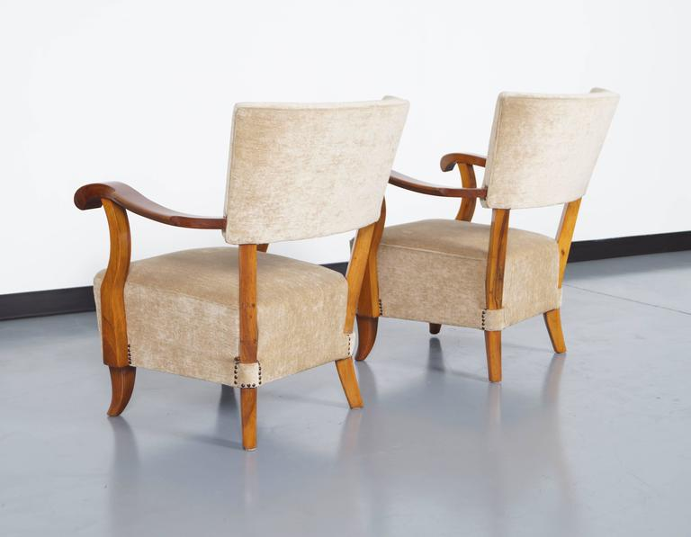 Vintage french art deco lounge chairs for sale at 1stdibs for Vintage parisian lounge