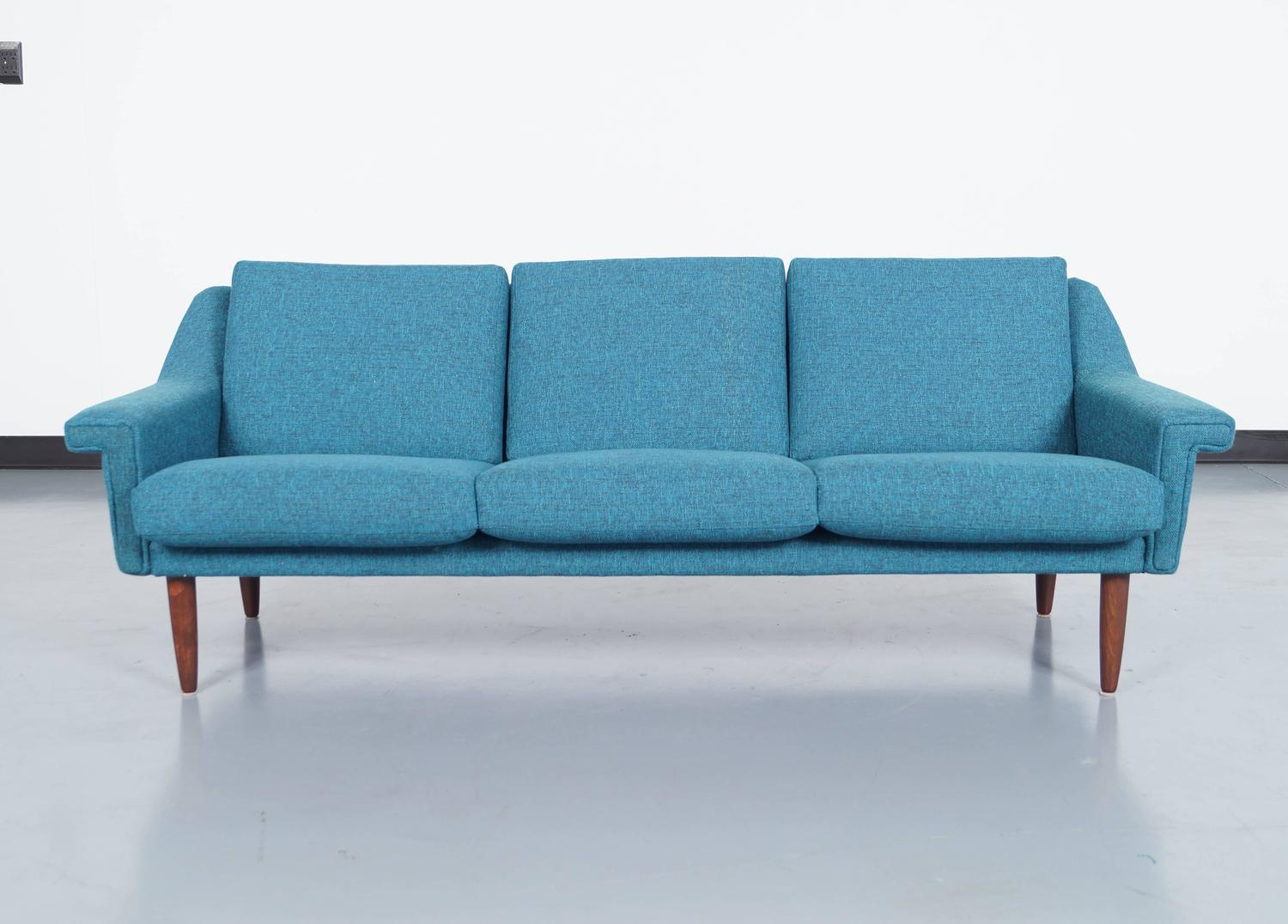 Danish modern sofa for sale at 1stdibs for Modern sofas for sale