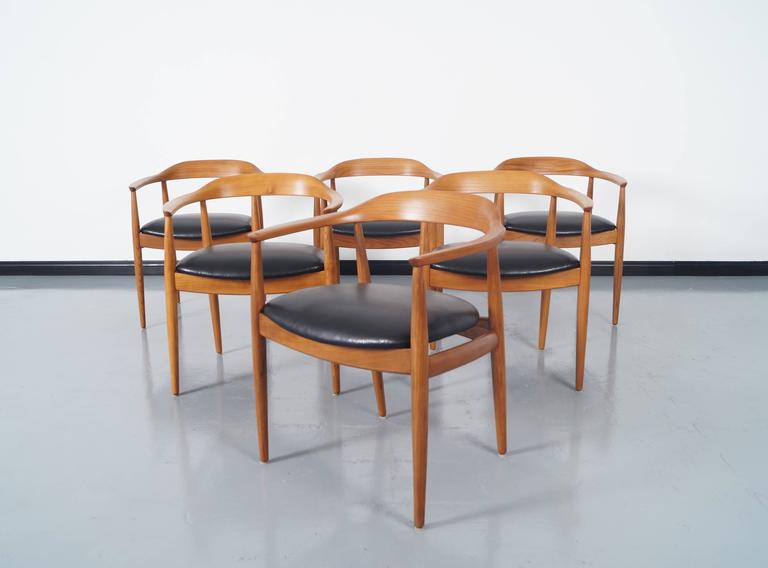 Danish Modern Dining Chairs By Niels Eilersen 2