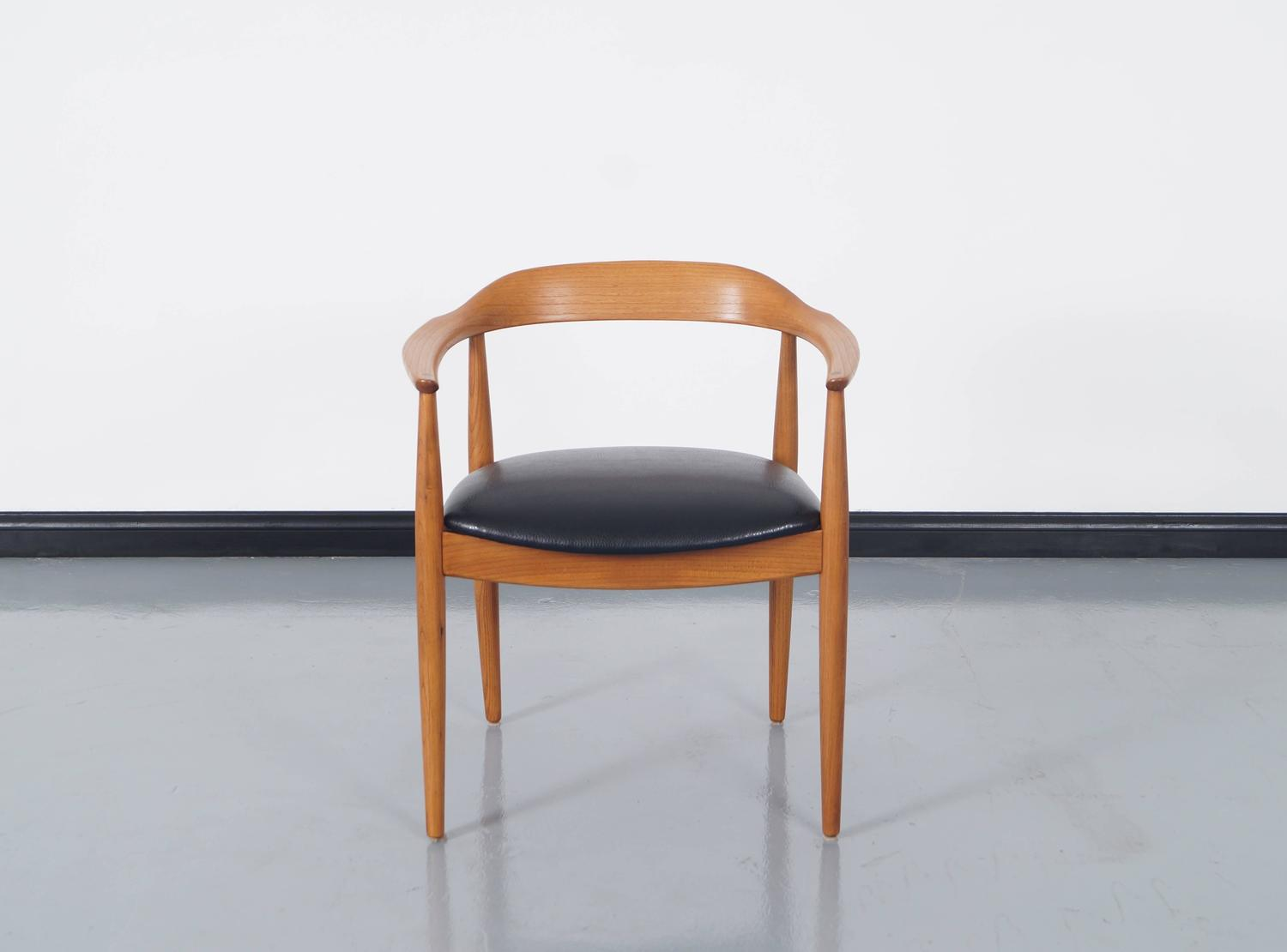 danish modern dining chairs by niels eilersen for sale at 1stdibs