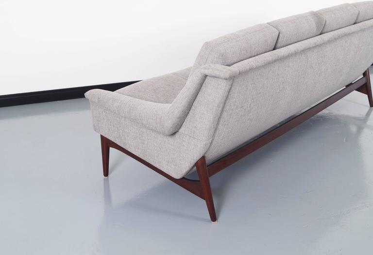 Danish Modern Teak Sofa For Sale At 1stdibs
