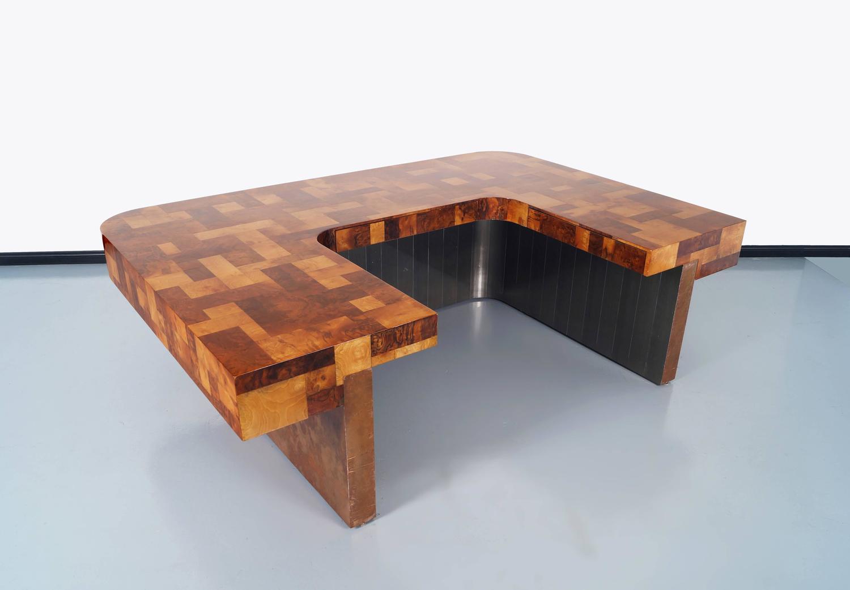 Custom cityscape executive desk by paul evans for sale for Unique desks for sale