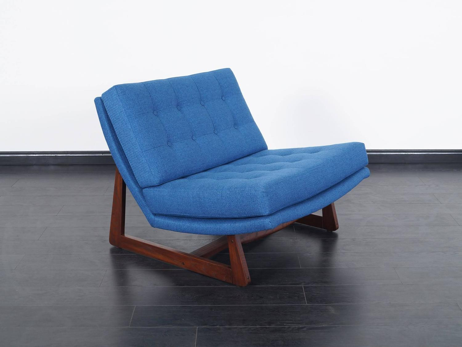 Vintage Tufted Lounge Chairs For Sale at 1stdibs