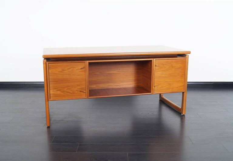 Danish Modern Teak Desk 8
