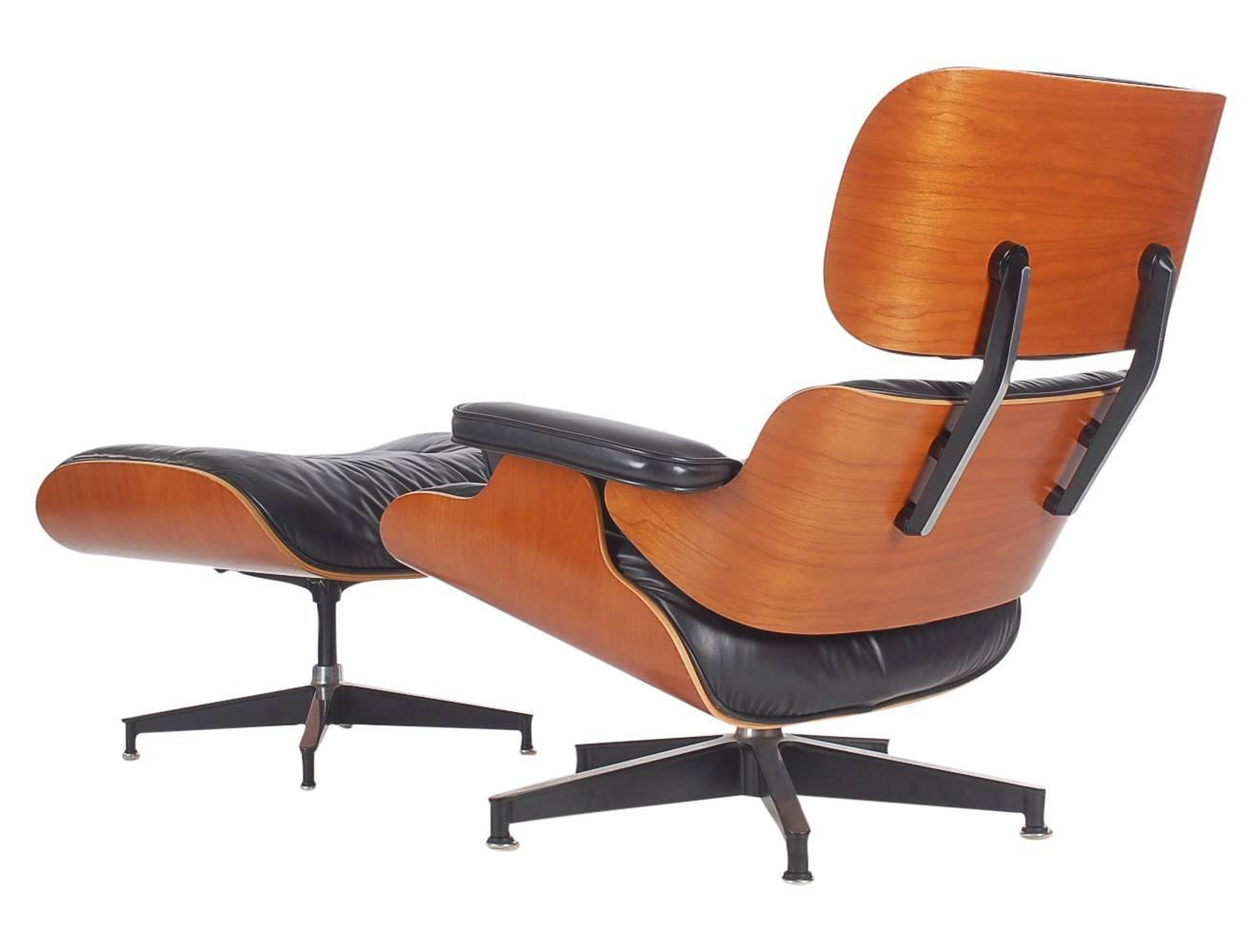 Charles eames for herman miller lounge chair and ottoman - Herman miller eames lounge chair and ottoman ...