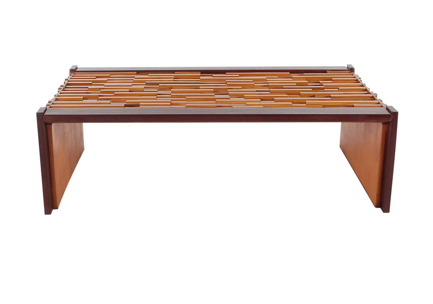 Mid century modern percival lafer brazilian rosewood cocktail table for sale at 1stdibs - Brazilian mid century modern furniture ...