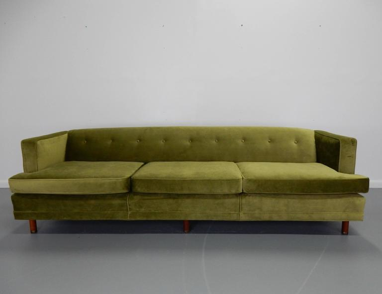 Tuxedo Sofa in the Style of Edward Wormley 2