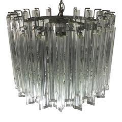 Venini Italian Murano Glass Chandelier