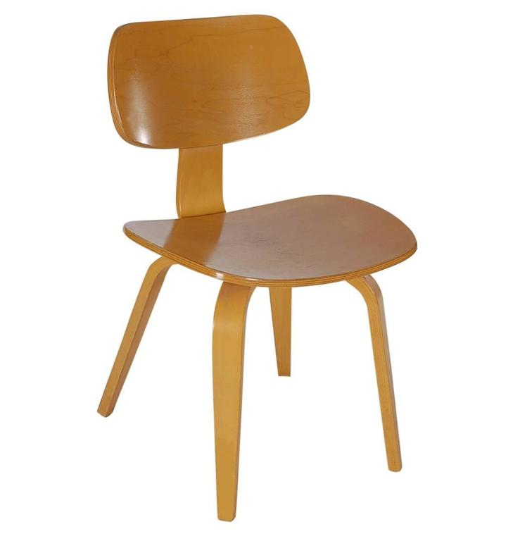 mid century modern bentwood dining chairs by thonet after charles