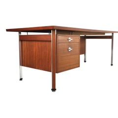 Finn Juhl Danish Modern Teak Executive Desk for France and Son