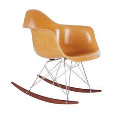 Vintage Herman Miller / Charles Eames Fiberglass Rocking Chair