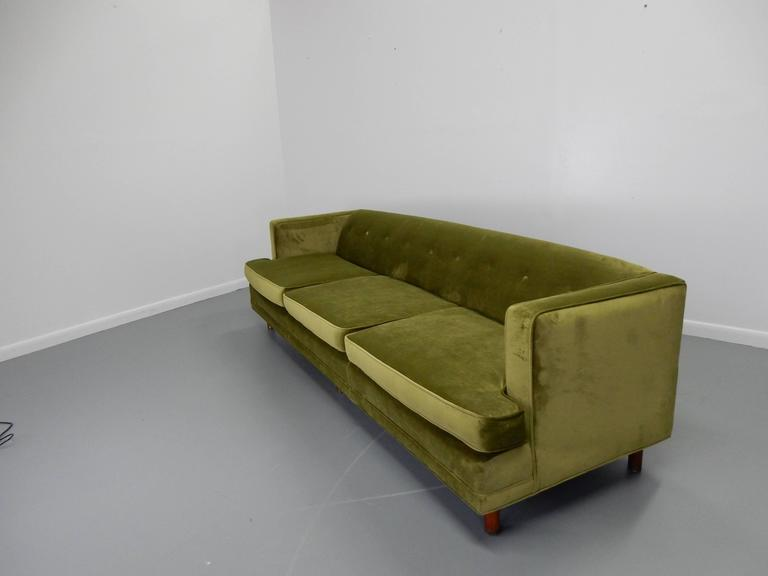 Tuxedo Sofa in the Style of Edward Wormley 3