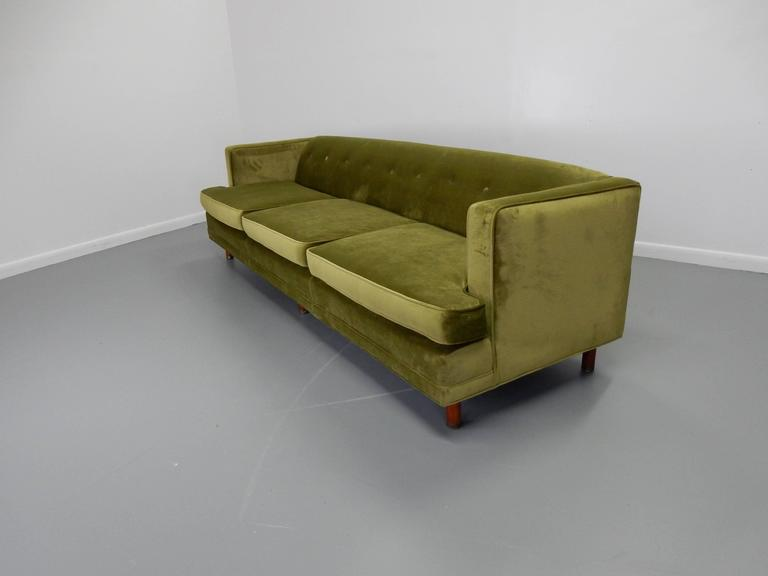 Tuxedo Sofa in the Style of Edward Wormley 5