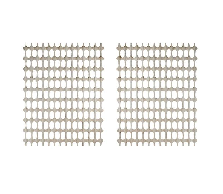 A large and rare pair of room divider screens designed by Richard Harvey in the 1960s. These are often referred to as the