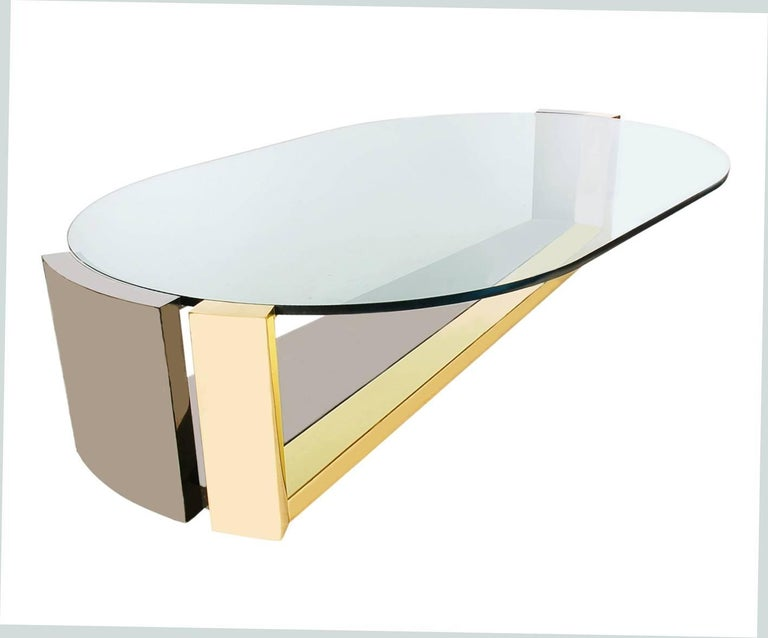 Mid-Century Modern Coffee Table, attributed Karl Springer, Paul Evans 5