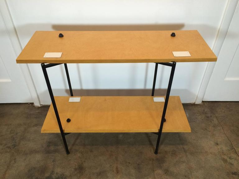 Tony Paul Table and Server, Server Hold Table Leaves For Sale 2