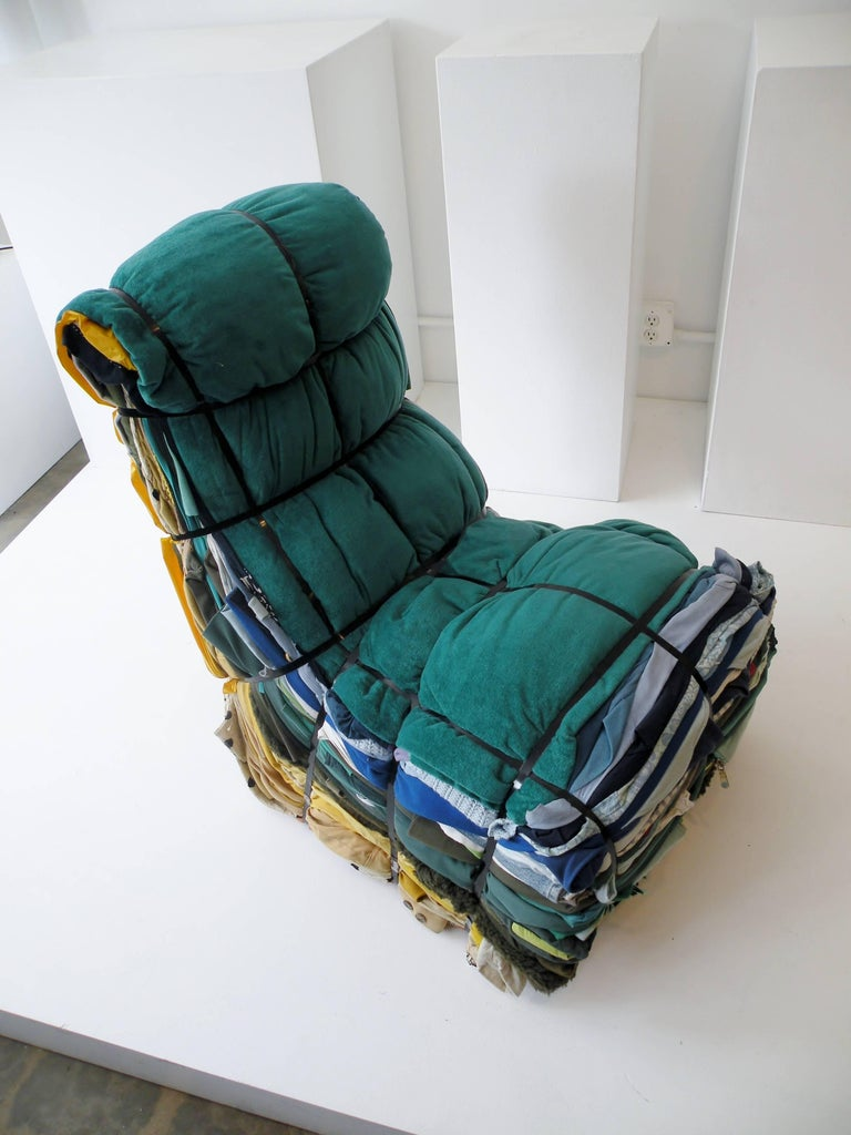 Modern Tejo Remy Rag Chair for Droog Design, 1991 For Sale
