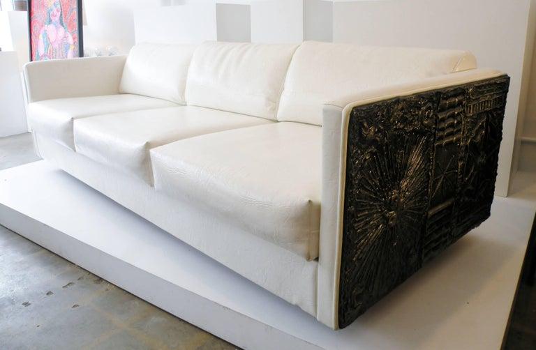 Adrian Pearsall Brutalist Club Tuxedo Sofa Craft Associates 5