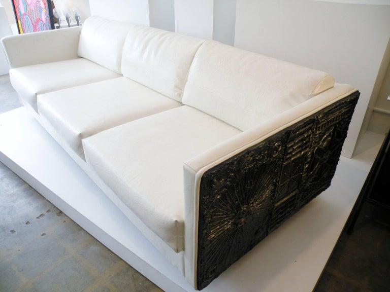 Adrian Pearsall Brutalist Club Tuxedo Sofa Craft Associates 8