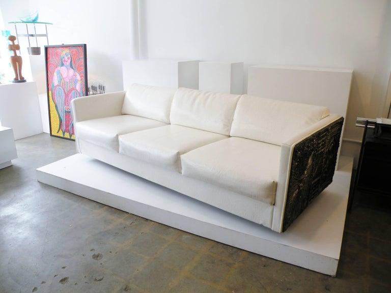 Adrian Pearsall Brutalist Club Tuxedo Sofa Craft Associates 2