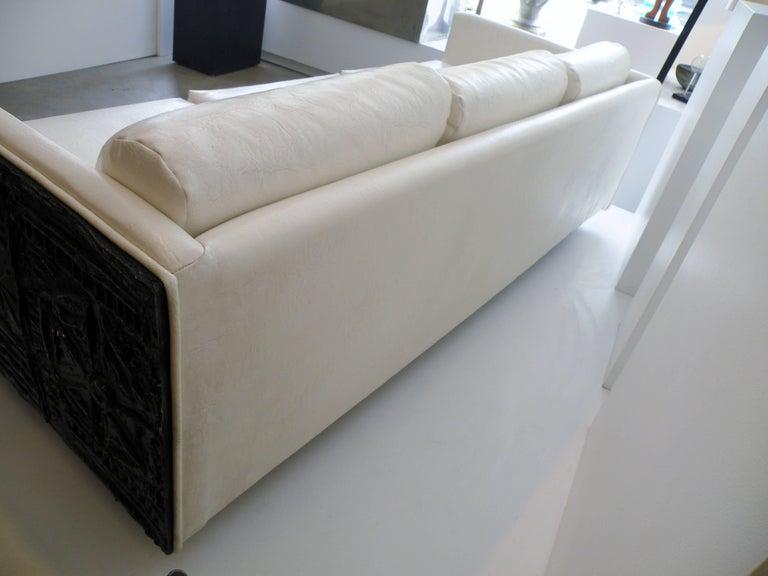 Adrian Pearsall Brutalist Club Tuxedo Sofa Craft Associates 9