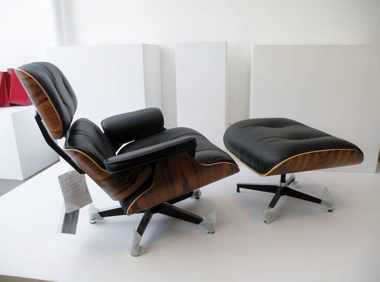 Charles & Ray Eames Herman Miller 670 671 Lounge Chair and Ottoman 5