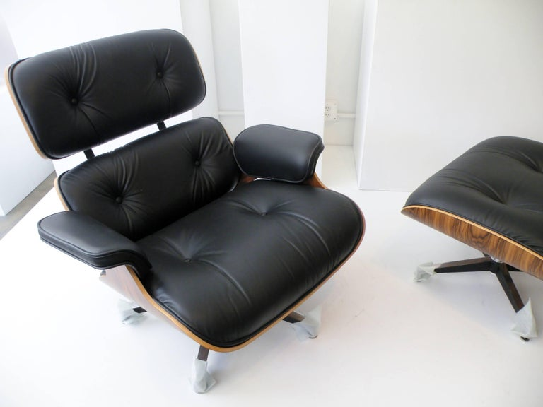 Charles & Ray Eames Herman Miller 670 671 Lounge Chair and Ottoman 6