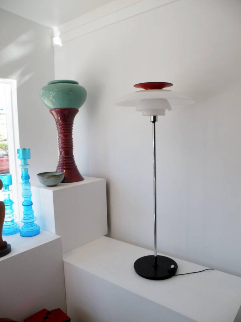 Poul Henningsen PH 80 Louis Poulsen SAS Hotel Floor Lamp 8